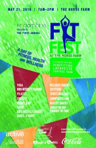 Fit Fest at the Horse Farm in Lafayette, LA.