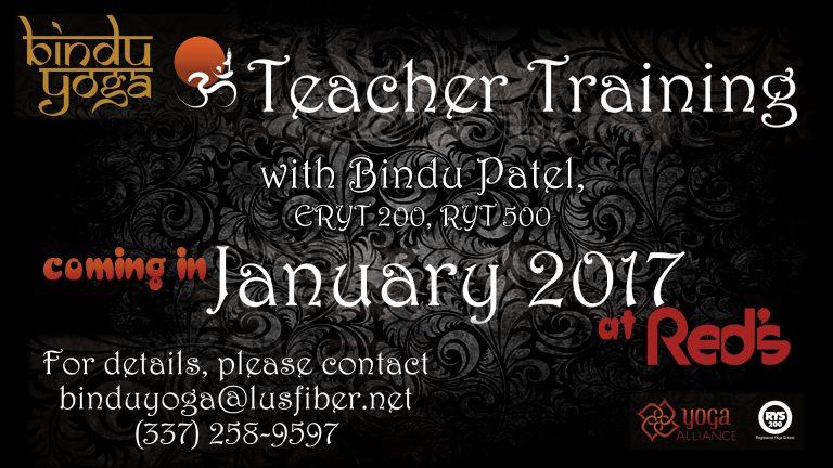Bindu yoga training