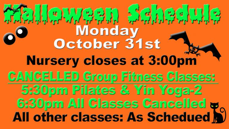 2016 Halloween schedule at Red's.