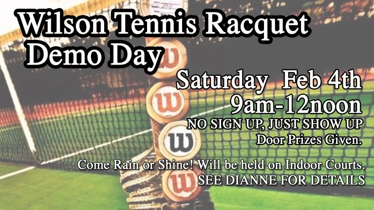 Wilson demo day at Red's.