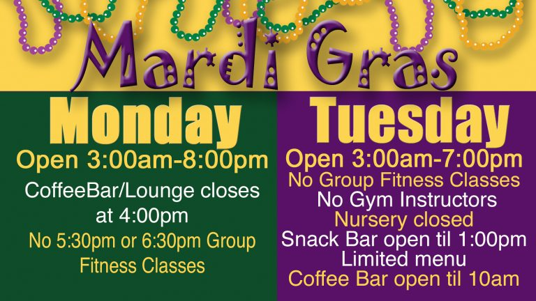 Mardi Gras 2017 schedule at Red's