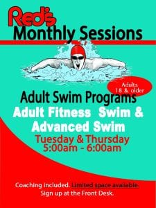 Adult Swim Programs at Red's