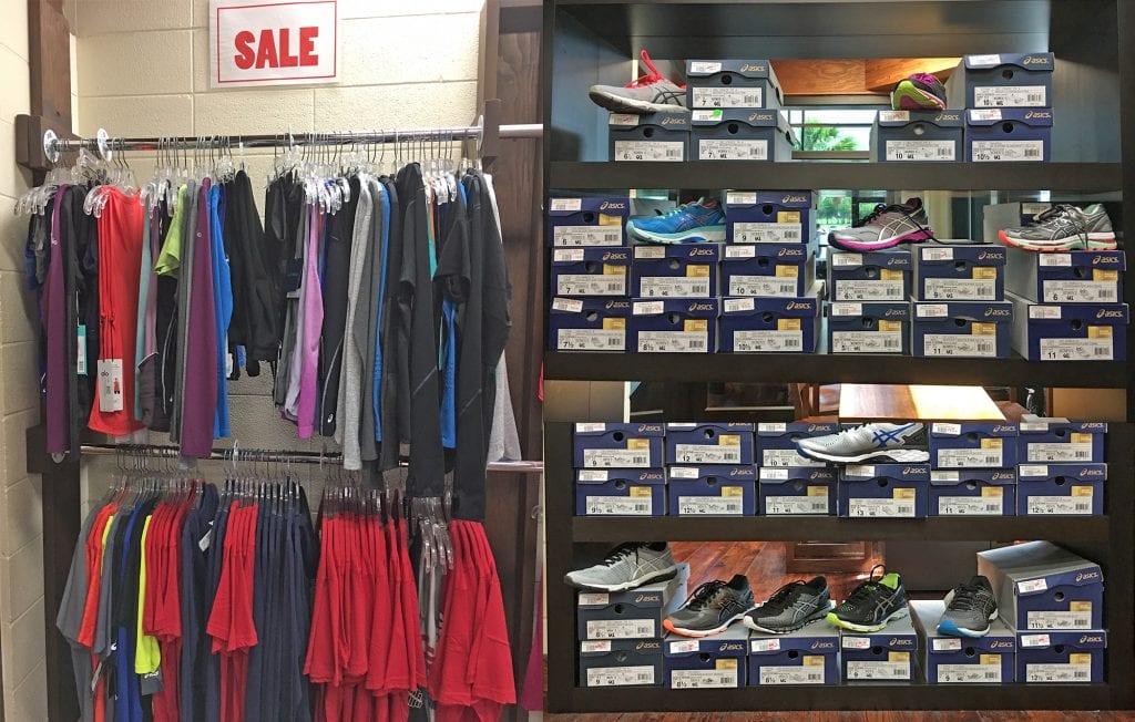 Pro Shop items on sale.